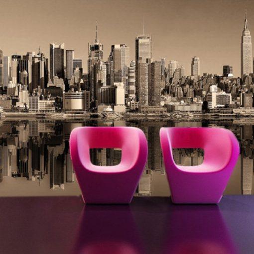 widok na nowy york dekoracja