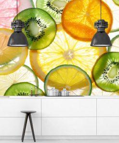 Owoce na tapecie