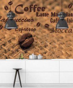 Kawa na tapecie