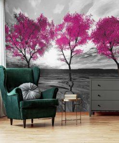 Fototapeta drzewka nad wod膮