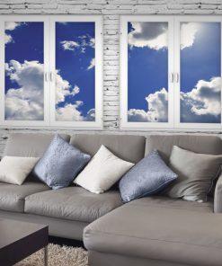 chmury fototapeta