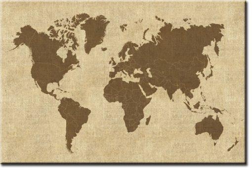 mapa fototapeta