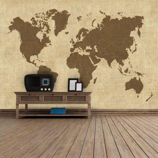 fototapeta kontynenty