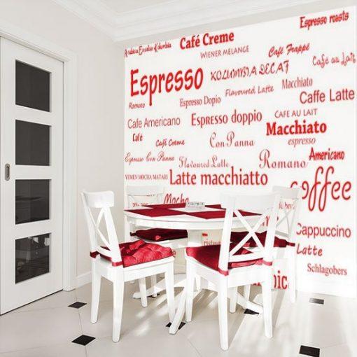 tapeta rodzaje kawy