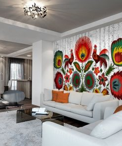 dekoracje 艣cian salonu