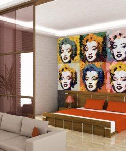 ozdoby do sypialni Marilyn Monroe