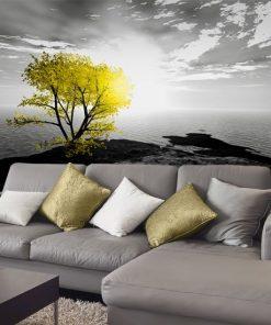fototapeta z drzewem
