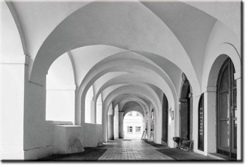 tapety z korytarzami