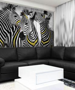 ozdoby z zebrami