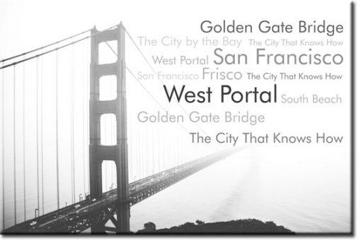 fototapety z golden gate