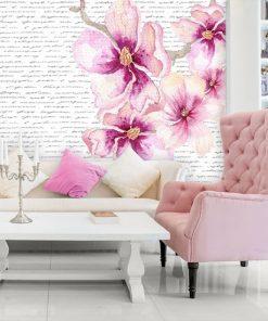 tapeta z magnoliami