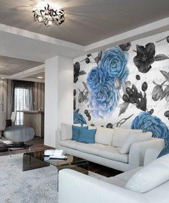 grafiki kwiatowe na ściany