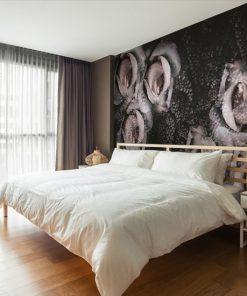 tapeta - róże na ścianę