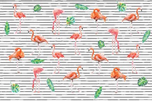 tapety z flamingami