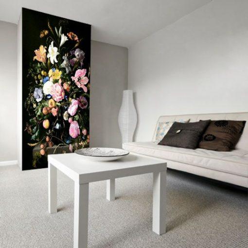 tapeta z kwiatami jasnymi