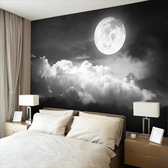 czarno-bia艂e niebo jako tapeta