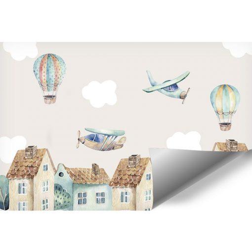 Fototapeta balony i samoloty