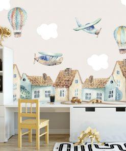 Fototapeta dla dziecka z balonami