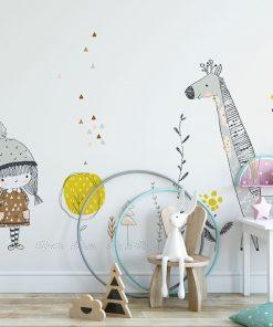 Fototapeta do dekoracji pokoju dziecka