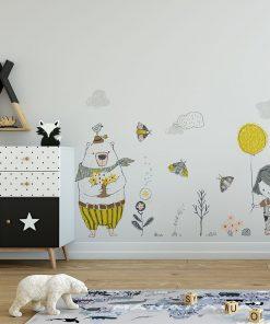 Tapeta do pokoju dzieci臋cego