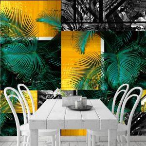 Tropikalna fototapeta do kuchni