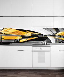 fototapeta do kuchni z abstrakcj膮