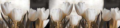 fototapeta kuchenna z tulipanami