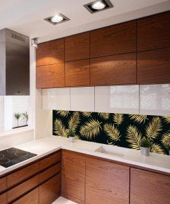 fototapeta kuchenna liście palmy
