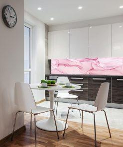 tapeta z motywem różowej abstrakcji