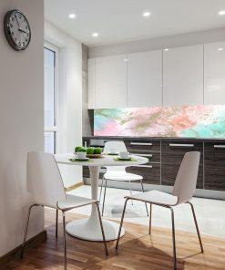abstrakcyjna fototapeta kuchenna