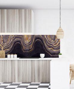 fototapeta do kuchni z beżowym wzorem