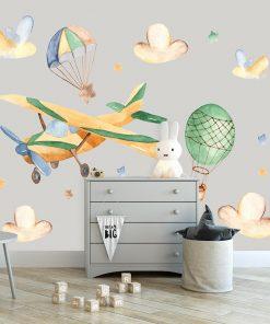 fototapeta z balonem do pokoju dziecka