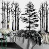 tapeta z motywem drzew
