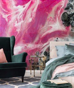 tapeta resin art jako dekoracja
