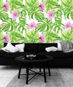 Fototapeta z hibiskusem