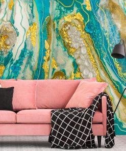 Abstrakcja na fototapecie dekoracja do salonu