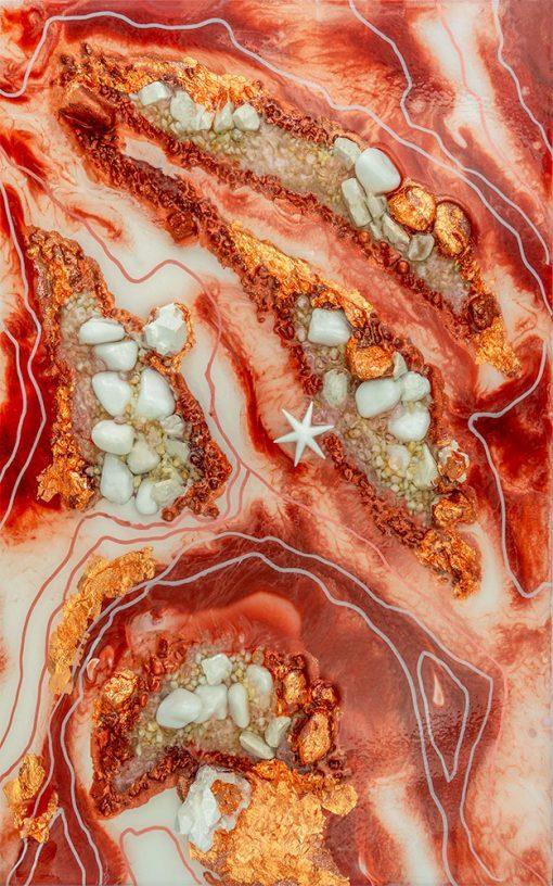fototapeta żywiczna reprodukcja malarstwa abstrakcja