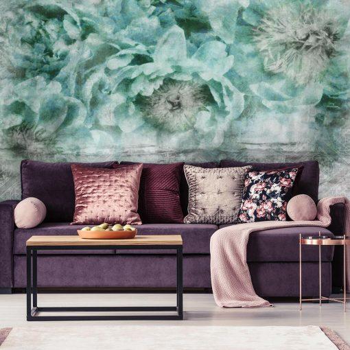Foto-tapeta botaniczna do salonu - Wzór orientalny