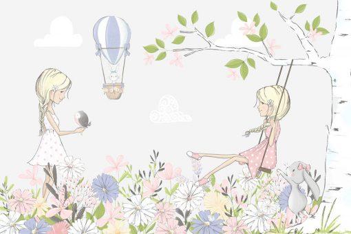 Fototapeta dzieci臋ca - Kwiaty