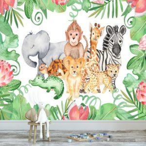 Foto tapeta ze zwierzątkami