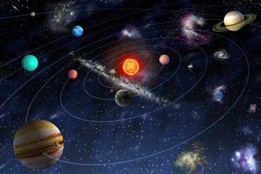 Fototapeta z motywem kosmosu