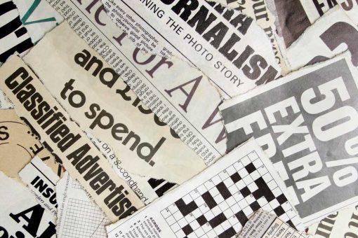 Fototapeta gazety