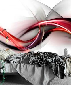 Tapeta z neonową abstrakcją