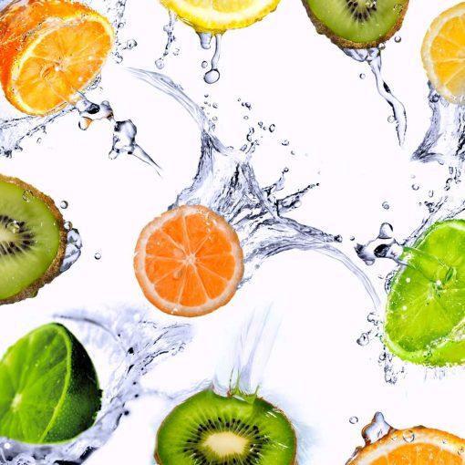 Fototapeta z owocami