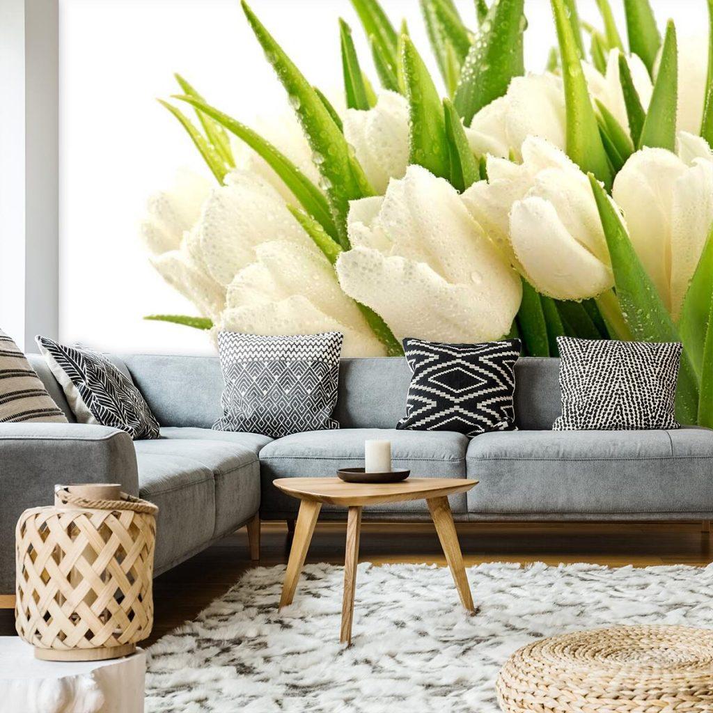 Bukiet tulipanów - tapeta
