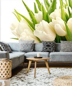 Bukiet tulipan贸w - tapeta
