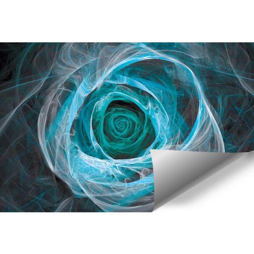 Tapeta z turkusow膮 abstrakcj膮