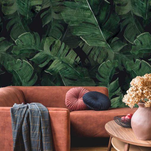 Fototapeta liście z tropików