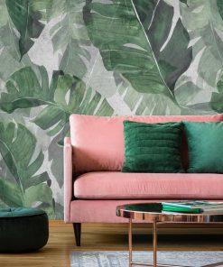 Foto-tapeta liście z tropików