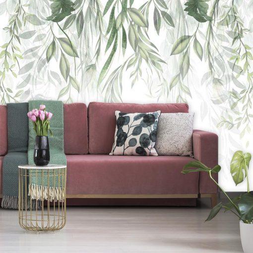 Foto-tapeta z motywem zielonych roślin